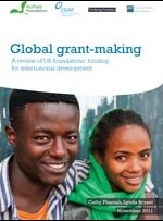 Global grant-making: A review of UK foundations' funding for international development
