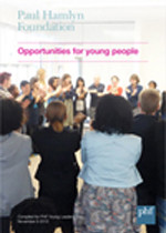 PHF Opportunities for young people