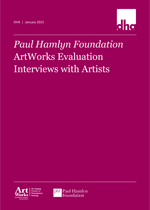 ArtWorks Evaluation Interviews With Artists