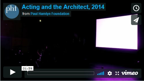 Acting and the Architect, 2014