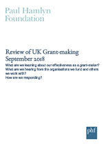 Review of UK Grant-making 2018