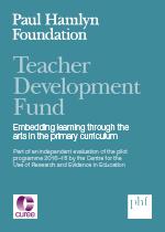 Teacher Development Fund pilot programme 2016–18 evaluation