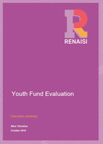 Youth Fund evaluation: Executive summary