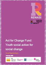Act for Change Fund: Youth social action for social change