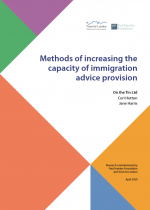 Methods of increasing the capacity of immigration advice provision