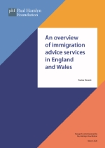 An overview of immigration advice services in England and Wales